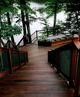 Ipe hardwood decking is long lasting durable and beautiful