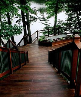 Ipe hardwood decking is long lasting durable and beautiful