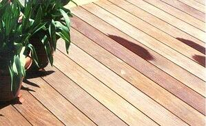1x4 Ipe decking has a narrow profile and looks great