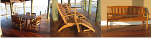 Ipe outdoor furniture