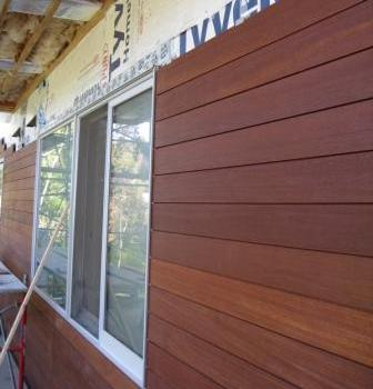 climate-shield rain screen horizontal wood siding installation