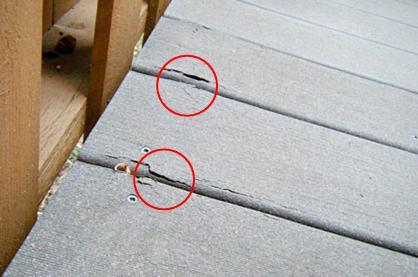 composite decking safety recall