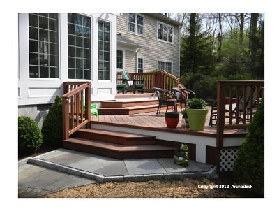 Mataverde Cumaru Decking with Ipe Railings