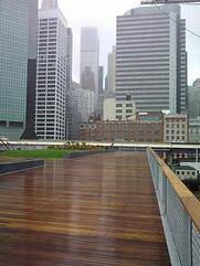 mataverde cumaru decking and handrail in New York City