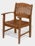 ipe chair, ipe armchair, ipe outdoor wood furniture