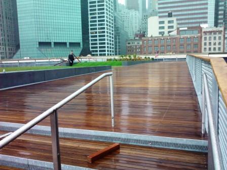 FSC Cumaru Decking by Mataverde in NYC