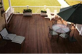 Ipe deck with Penofin oil finish