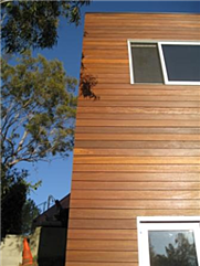 maintain the like new look of hardwood rainscreen siding with Bronze Cedar semi-transparent tint