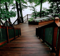 Ipe decking is all natural and eco-friendly