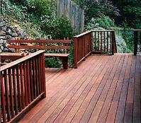 ipe decking and cumaru decking are beautiful high density hardwood decking material options