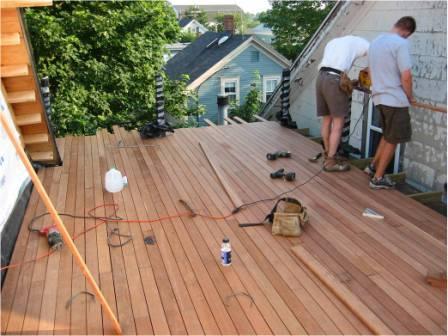 ipe_decking-_rooftop_ipe_deck_installation