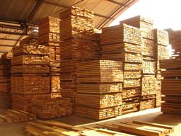 ipe wood after milling