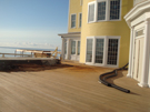 Ipe decking at Ocean House, Watch Hill, Rhode Island