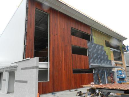 Vertical Rainscreen Wood Siding New Starter Rail For