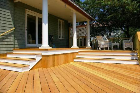 Mataverde Hardwood Garapa Decking and Siding