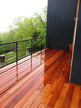 beautiful mataverde garapa hardwood deck