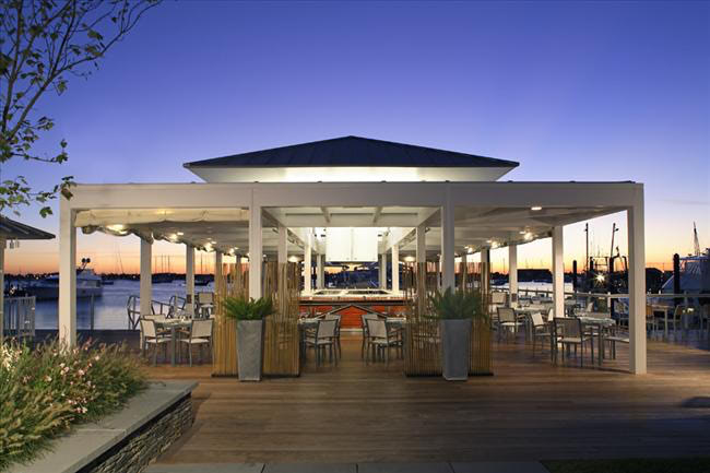 Ipe deck and docks in Newport, Rhode Island