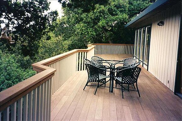 sustainable hardwood decking is naturally beautiful