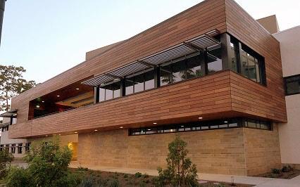 Machiche rain screen and soffits University California Santa Barbara