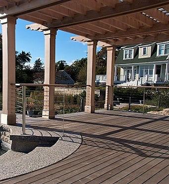 Ipe Pool House Deck and Pergola