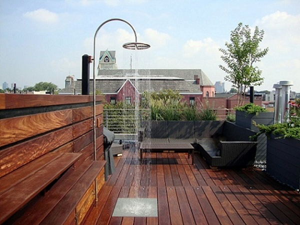 Ipe rooftop deck in NYC