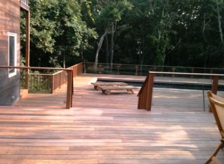 cumaru deck and pool surround