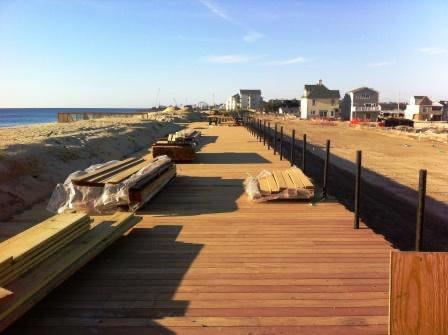 Garapa Boardwalk Ortley Beach in New Jersy