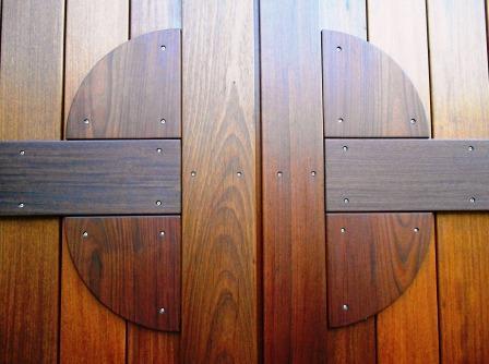 Ipe Exterior Door Project