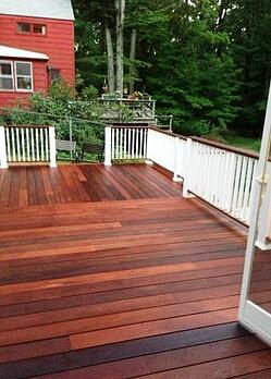 Ipe deck and patio project for Other names for balcony
