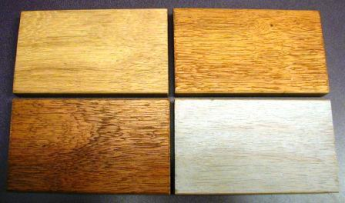 Cambara hardwood can be stained, sealed or painted