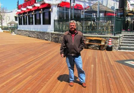 Mataverde Ipe decking Rye, NY Playland park boardwalk