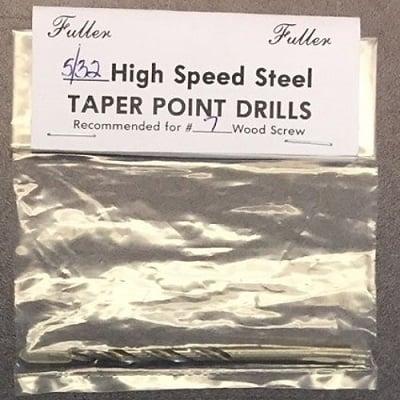 5-32 high speed steep taper point drills