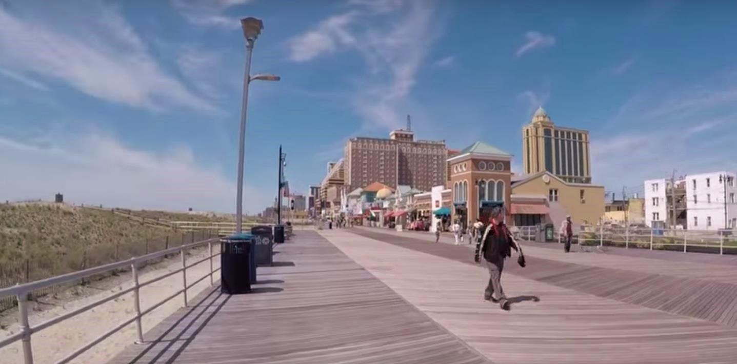 Atlantic City Boardwalk Cumaru hardwood decking
