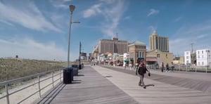 Atlantic City Boardwalk decking