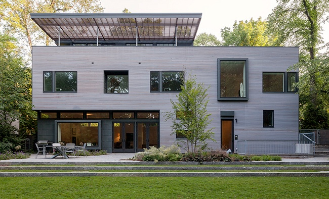 Ipe siding with Seal Once Cape Cod Gray Anmahian Winton Architects
