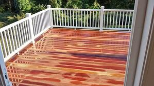 Cumaru hardwood deck-3