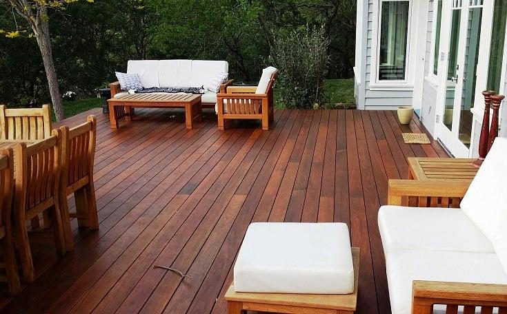 FSC Machiche hardwood decking