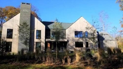 Garapa siding architectural rainsceen cladding design in New Englan