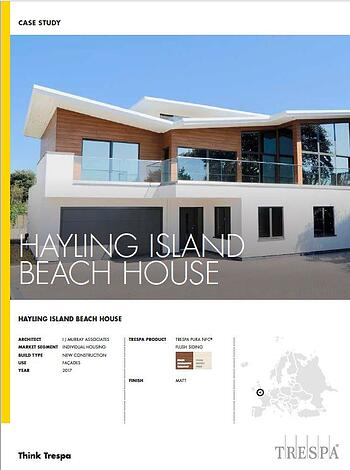 Hayling House Trespa Case Study