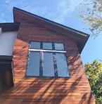 Ipe hardwood rainscreen siding in Virginia
