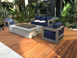 Ipe rooftop deck with Eurotec Aluminum framing and adjustable pedestals