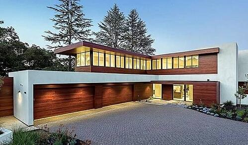 Machiche Cladding on a Modern Home