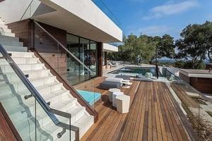 Machiche hardwood deck poolside-1