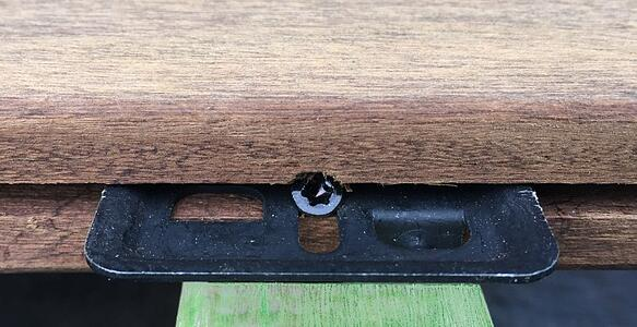 Mataverde Eurotec Deck Clip Hidden fasteners are reliable and durable