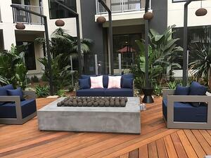Mataverde Ipe Decking and Eurotec frame system in Southern California