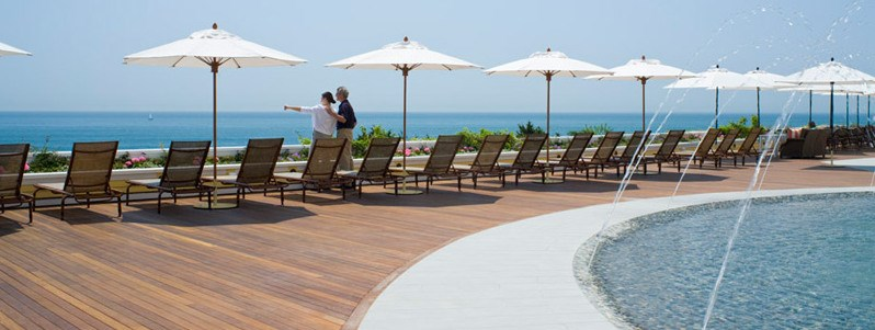 Mataverde Ipe hardwood decking at Ocean House in Rhode Island