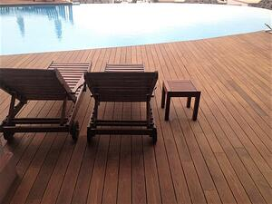 Mataverde thermowood decking creates a beautiful spot to realx