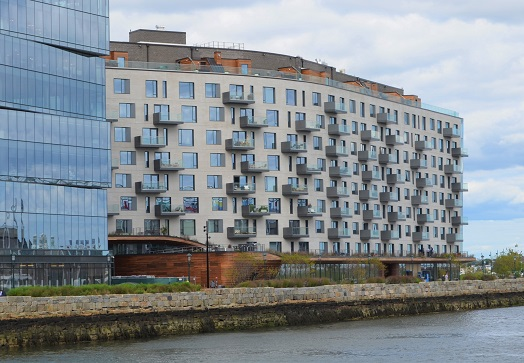 Pier 4 luxury apartments in Boston feature Ipe rain screen, Ipe decks and more