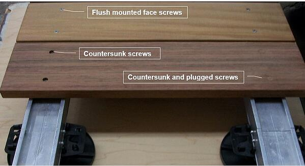 Profile_screw_fastening_options