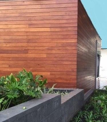 Rain screen hardwood siding ipe wood siding rainscreen for Real wood siding